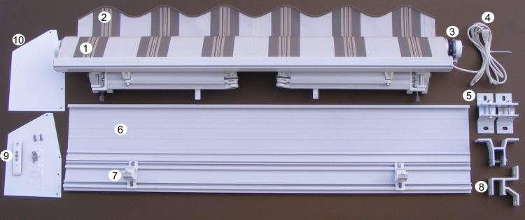 Awnings And Shutters Installation Instructions
