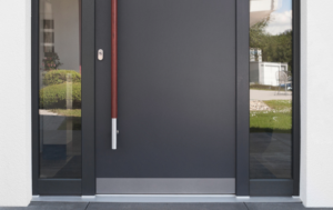 Secure Entry Door outside